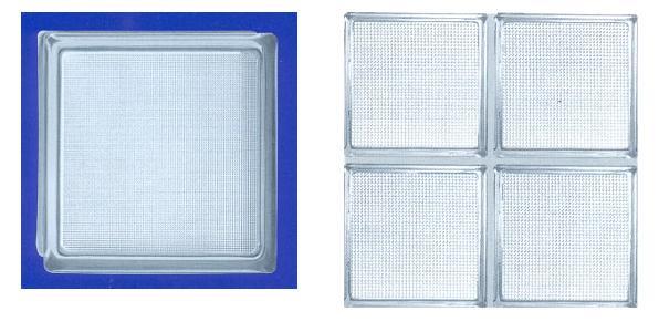 Bloques de vidrio medidas materiales de construcci n - Como poner bloques de vidrio ...